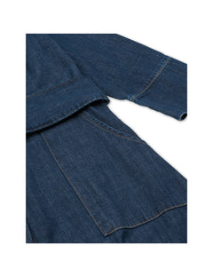 Soft Organic Denim Daffi, Dark Indigo