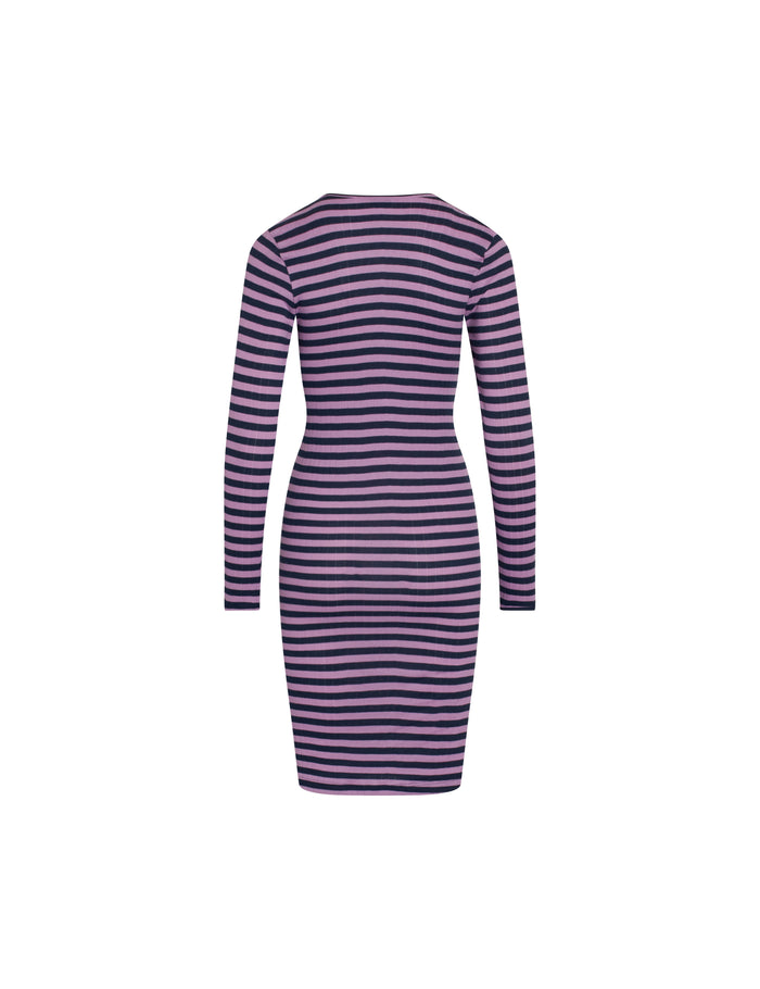 NPS John Dress Long Sleeve Broadway, Light Purple/Navy