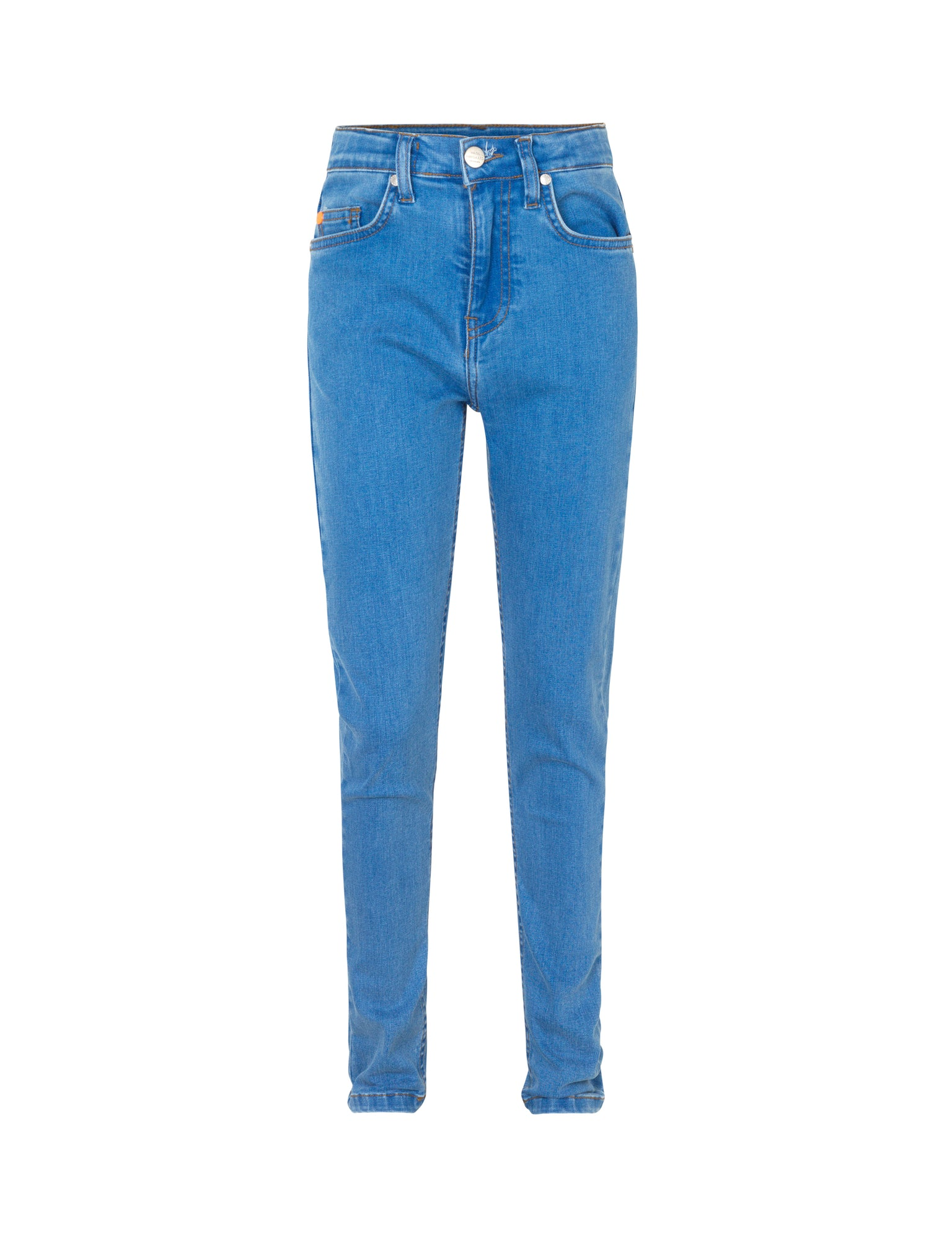 Washed Bright Blue Jagino Slim, Washed Blue