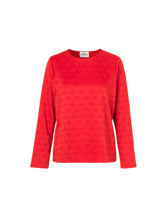 Tonal Jacquard Shazzy, Red/Red