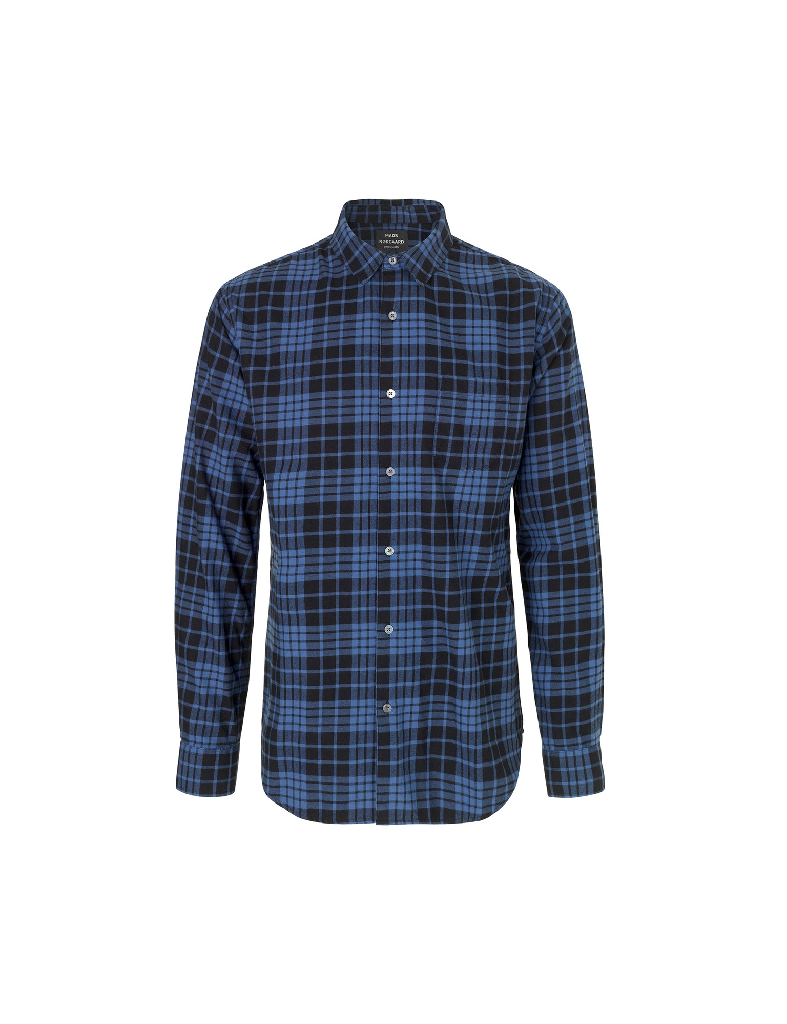 Colour Check Selik, True Navy/Black Check