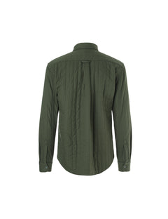 Quilt Shirt Skals, Rifle Green