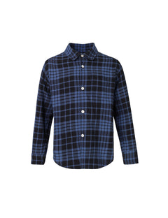 Colour Check Svantino, True Navy/Black Check
