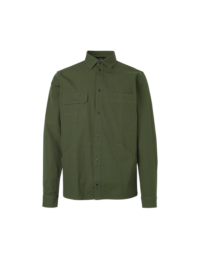 Canvas Shirt Sahi, Rifle Green