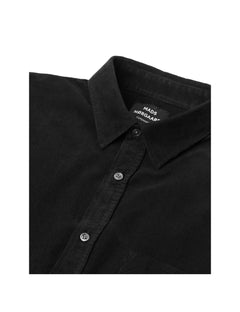 Cord Shirt Silton, Black