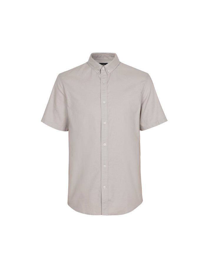 Oxford Sawsett S/S, Silver Cloud