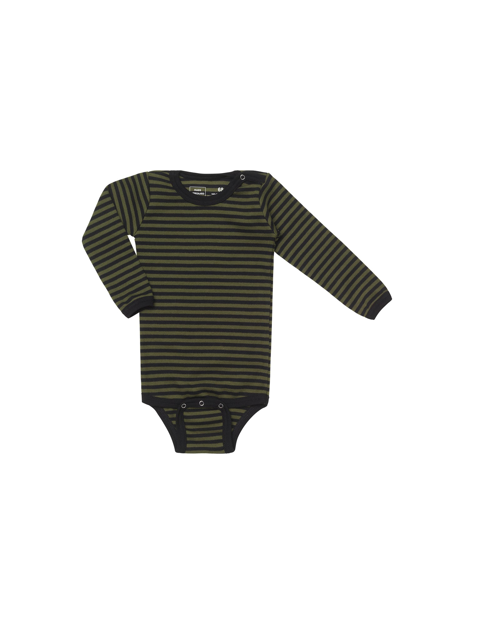 Duo Rib Body, Olive/Black