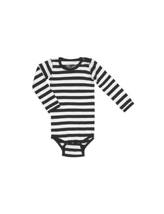 Midi Rib Body, Black/White
