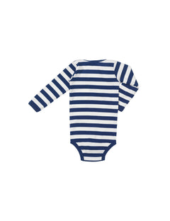 Midi Rib Body, Dark Blue/Ecru