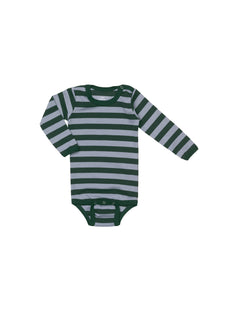 Midi Rib Body, Dark Greeen/Grey