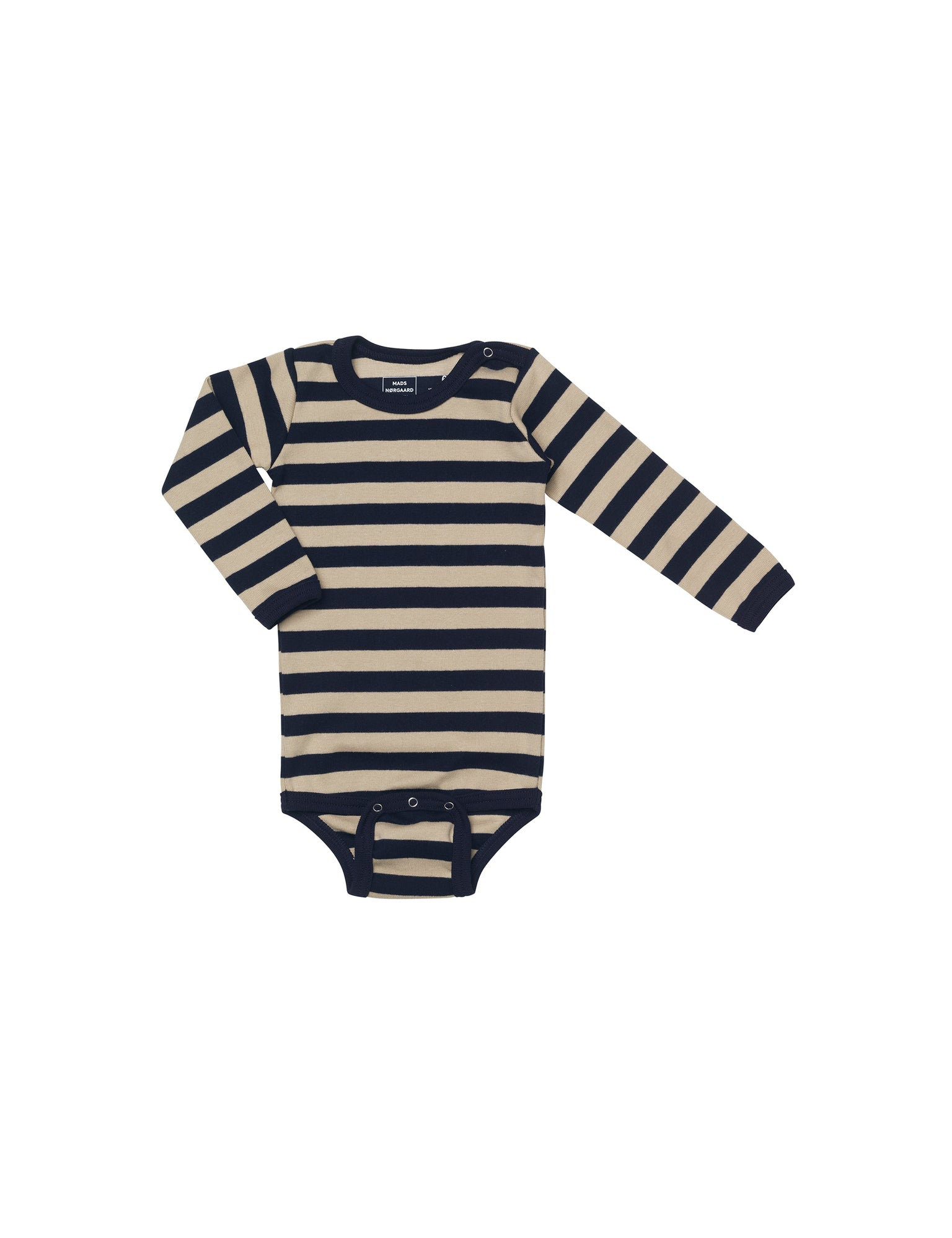Midi Rib Body, Beige/Navy