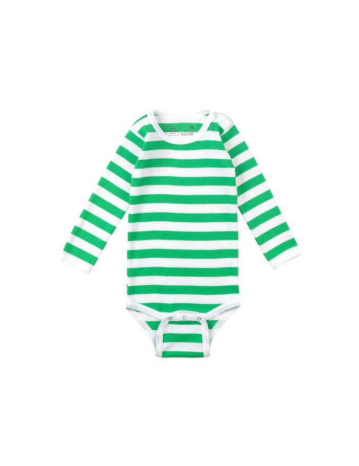 Midi Rib Body, Green/White