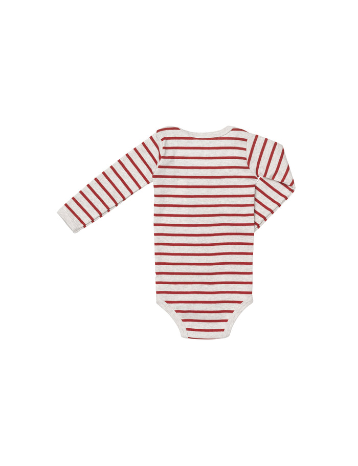 Trio Rib Body, Nature mel/ Red