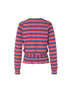 Super Stripe Beautina, Multi Red
