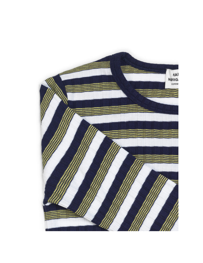 5x5 Happy Stripe Talino, Navy Multi
