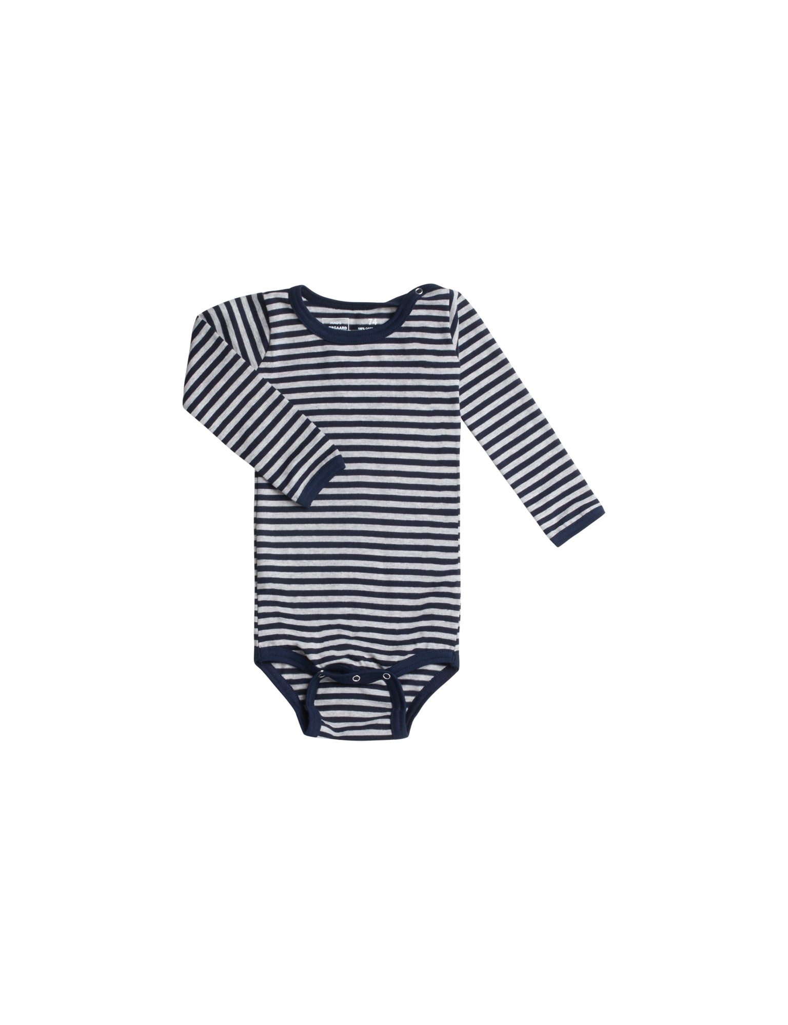 Mini Single Body, Navy/Grey melange