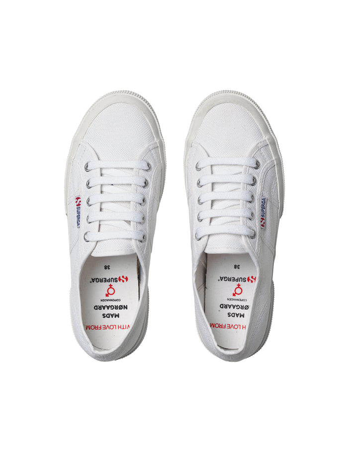 Superga X MN 2750, White/Red