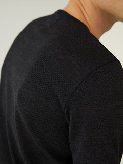 100% Light Wool Klap, Charcoal Melange