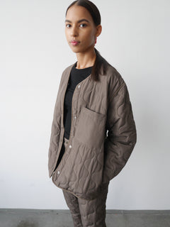 Ripstop Quilt Colina, Army Brown