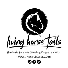 Exquisite handmade horsehair jewellery, bracelets, keepsakes and more by Living Horse Tails Australia