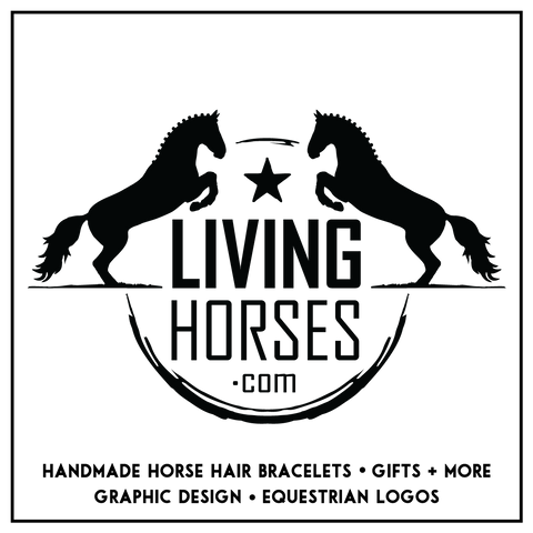 Living Horses - Handmade Horse Hair Jewellery and Gifts - Logo and Graphic Design Services