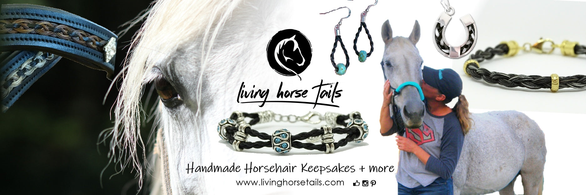 Living Horse Tails Handmade Equestrian and Horsehair Jewellery