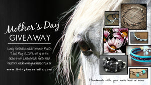 Win a Horse Hair Braided Bracelet for Mother's Day