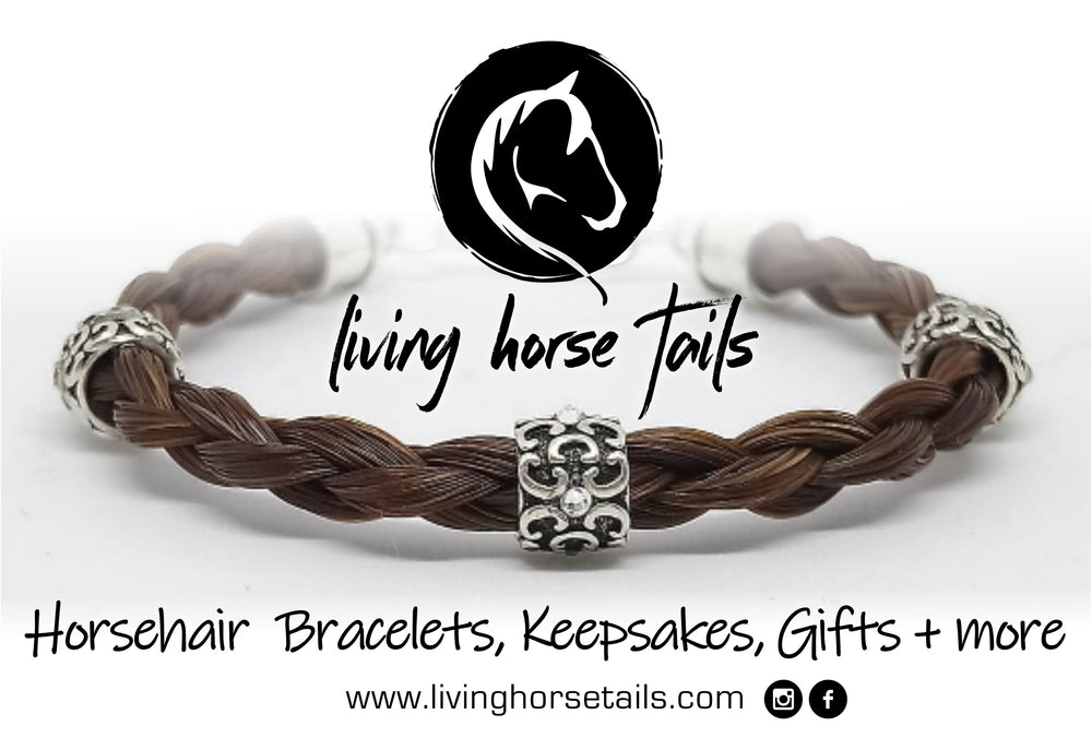 Living Horse Tails - Handmade Horsehair Bracelets, Keepsakes, Gifts and more using real horse hair by Living Horses. Made in Australia,  Shipped Worldwide.