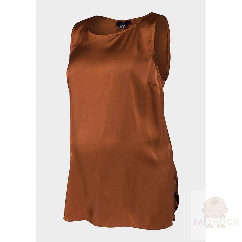 New Look Brown Maternity top