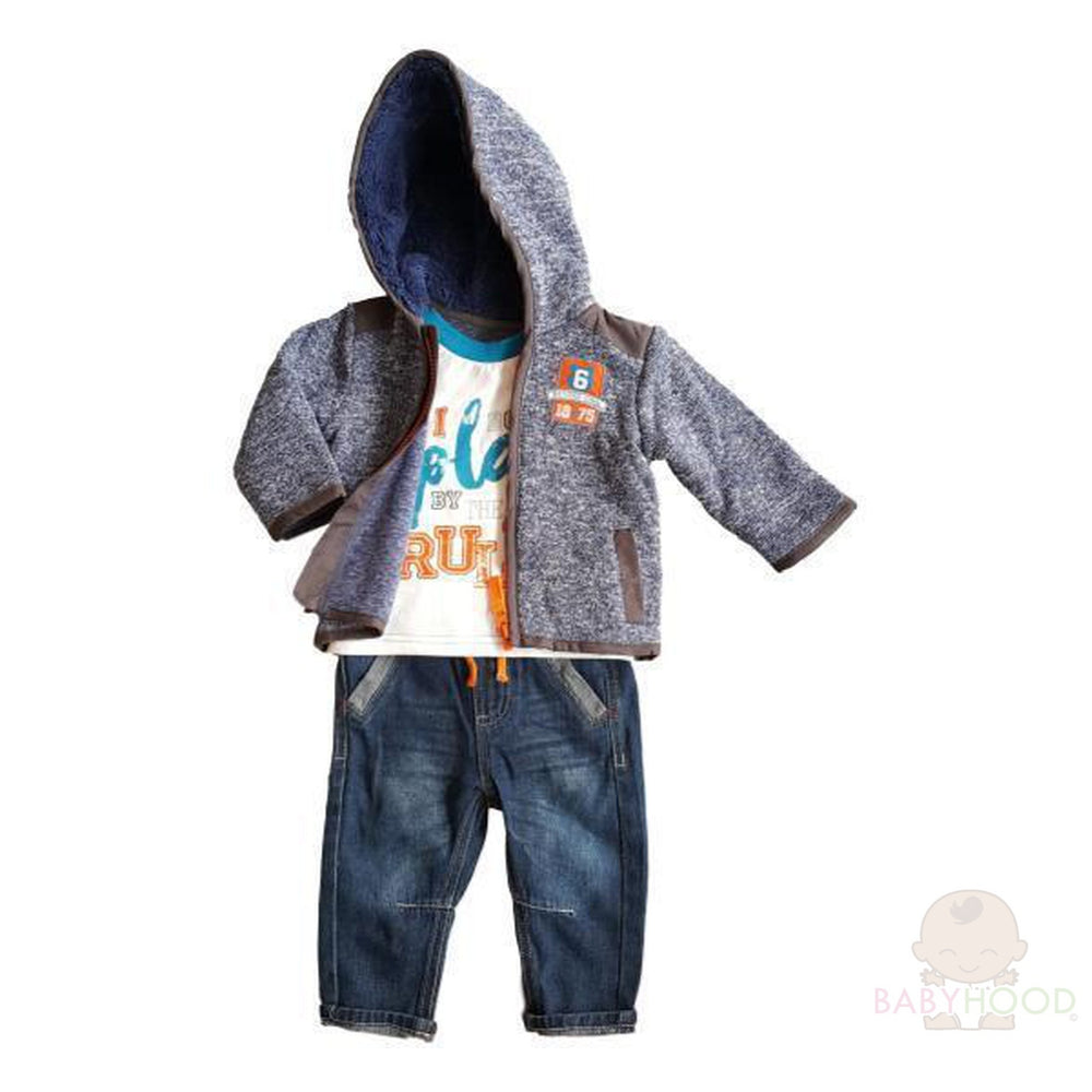 Baby Boys 3 Piece Casual Outfit