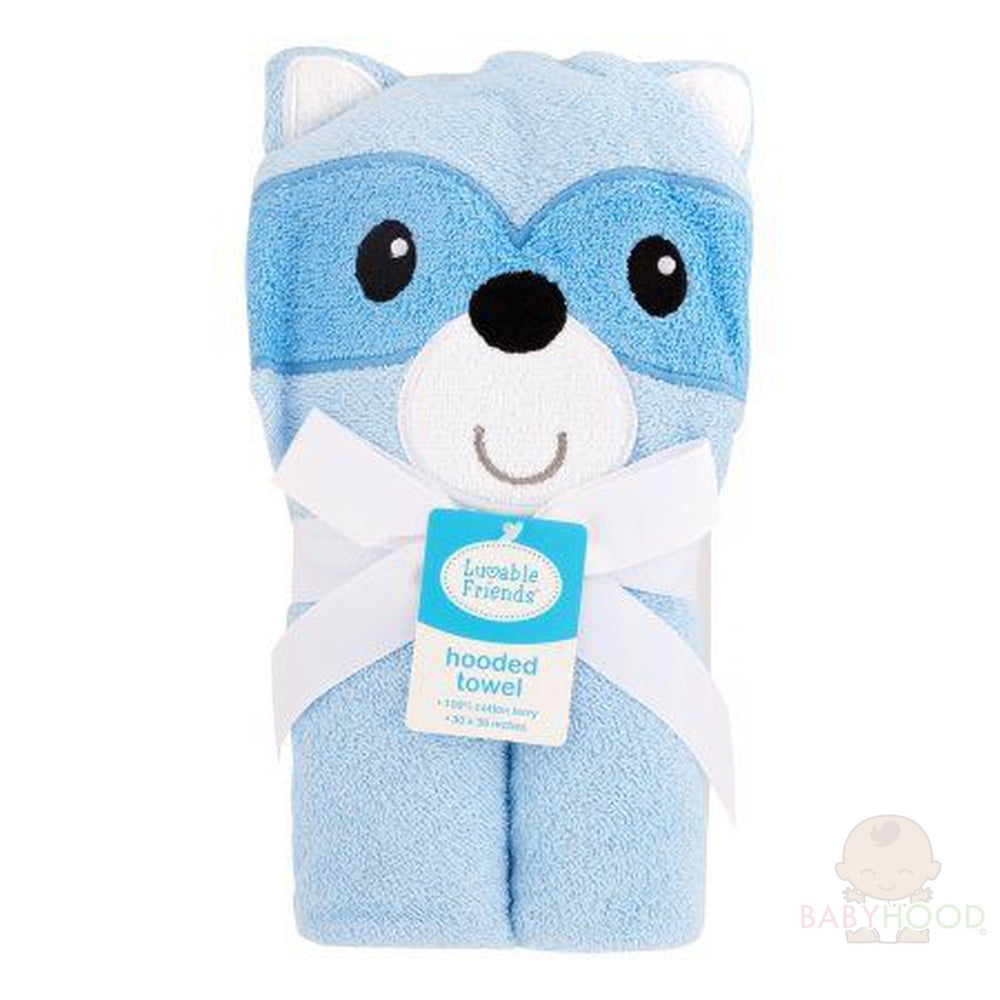 Blue Hooded Animal Blanket