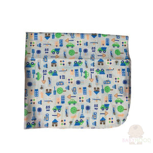 Carters Cars Single Receiving Blanket