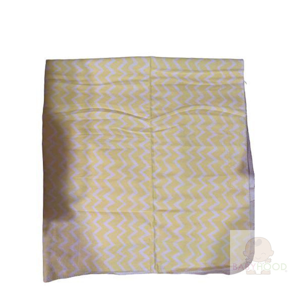 Summersault Yellow Waves Single Receiving Blanket