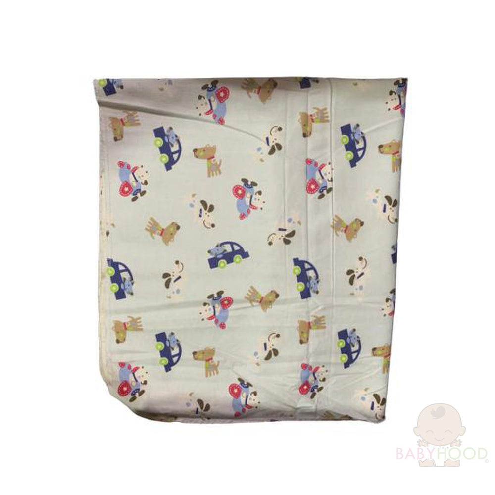 Carters Aeroplanes Single Receiving Blanket
