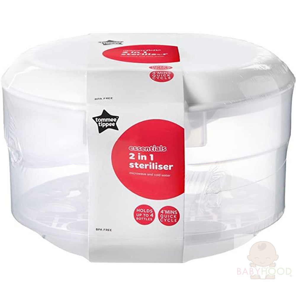 Tommee Tippee Essentials 2 in 1 Steriliser