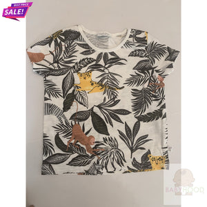 Boys T shirt Leaves