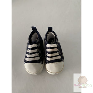 Infant Canvas Sneakers - Navy