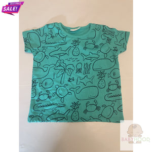 Boys T shirts - Green