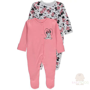 Minnie Mouse Sleepsuits