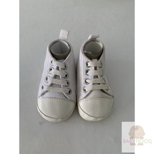 Infant Canvas Sneakers - White