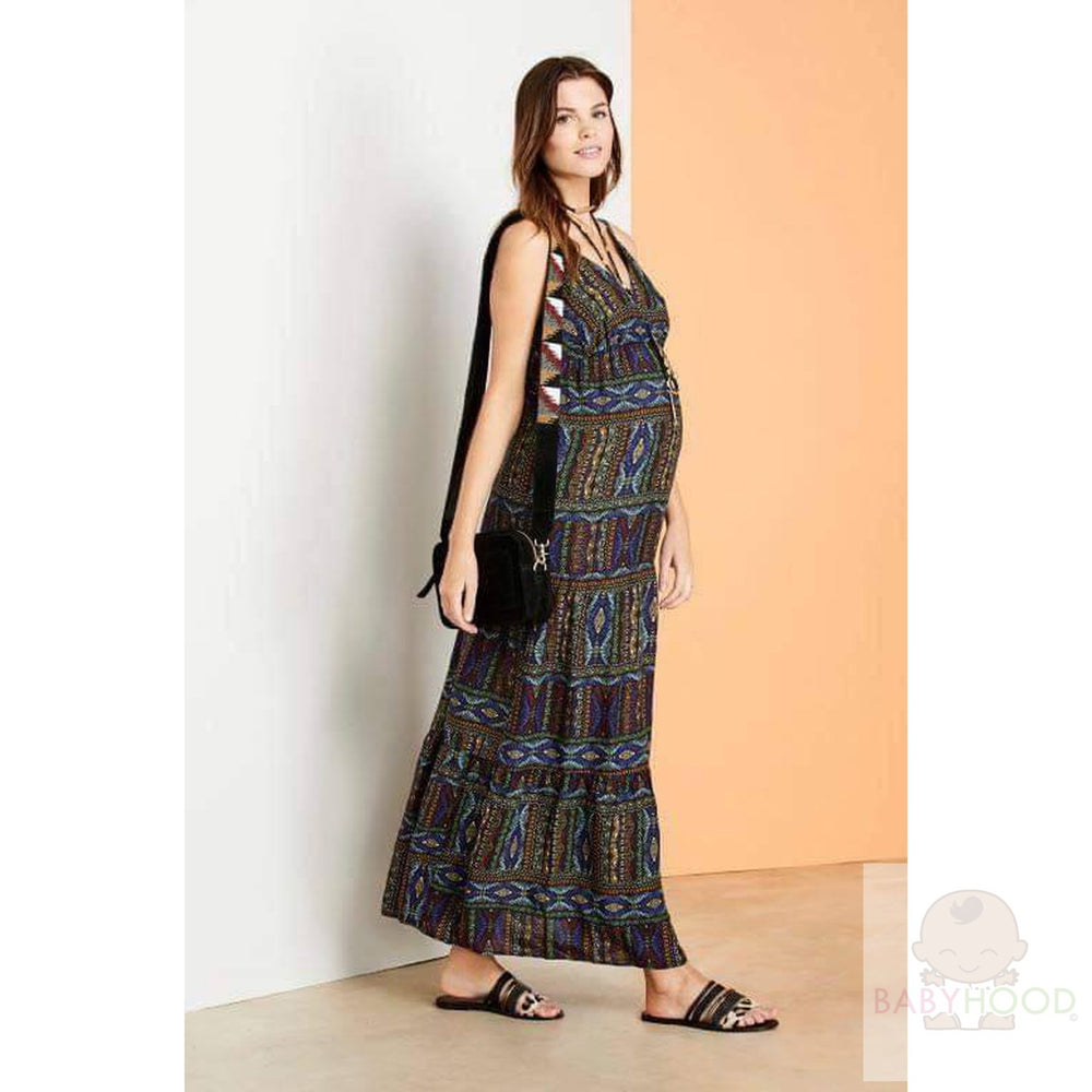 Next multicoloured MAXI dress