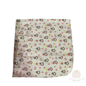 Carters Monkeys Single Receiving Blanket
