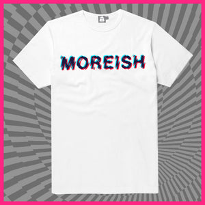 Super Hans White T-Shirt Moreish (Cracked)