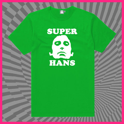 Super Hans Green T-shirt 'Green Eggs & Hans'