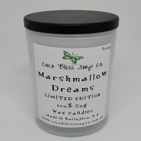 Marshmallow Dreams  Candle