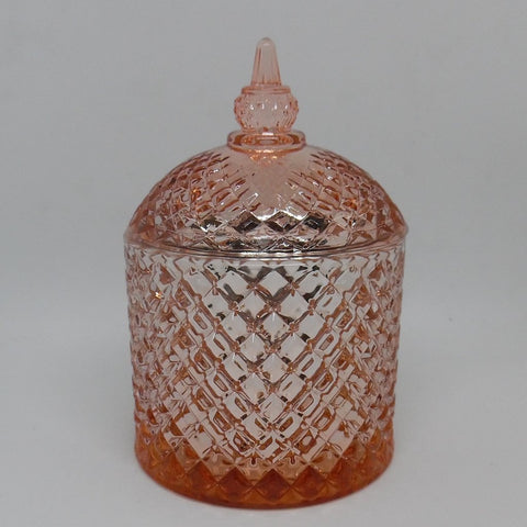 Cupola Jar - Rose Gold - A- L