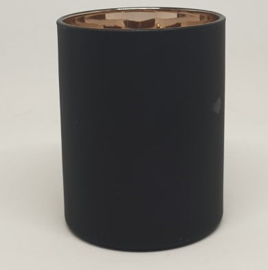 Cambridge Tumbler - Black with Rose Gold - A- L