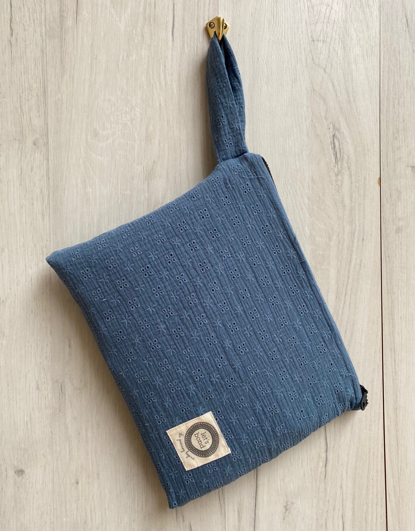Tender Touch Dusty Blue Wet & Dry Bag