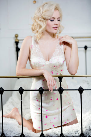 Floral Nightie - Pom Lampson