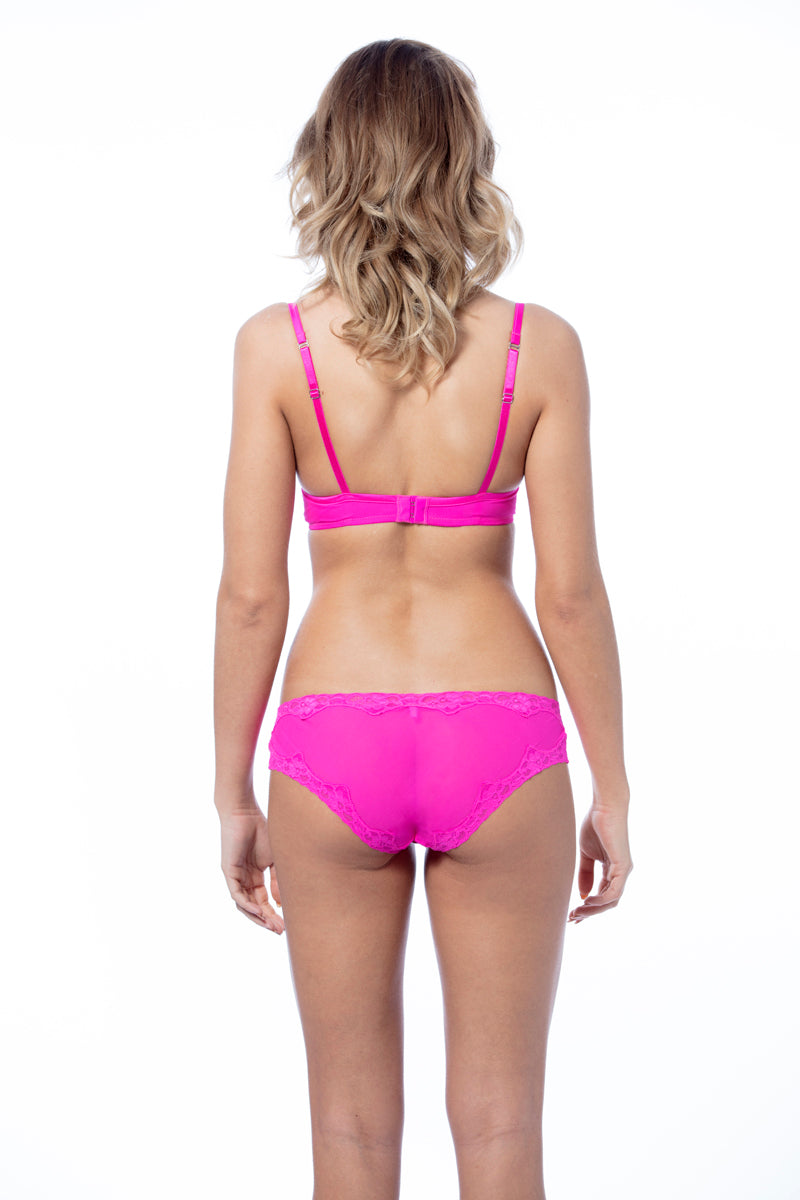 Monroe Knicker Hot Pink - Pom Lampson